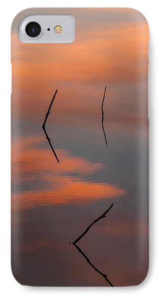 Reflected Sunrise IPhone Case by Monte Stevens