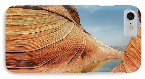 Reflected Wave IPhone Case