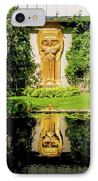 Reflecting Art IPhone Case by Greg Fortier