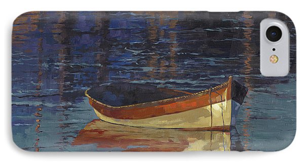 Sold Reflecting At Day's End Phone Case by Nancy  Parsons