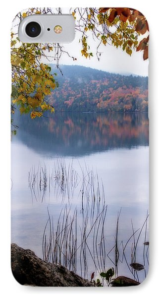 Reflecting Autumn IPhone Case by Terry Davis