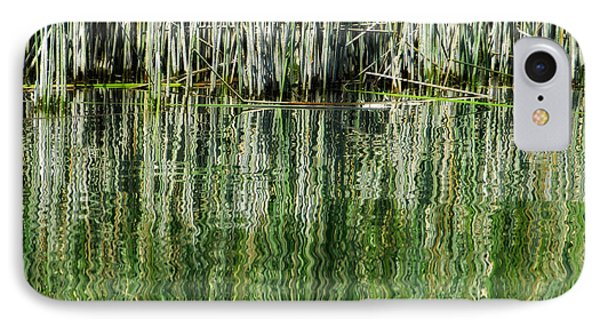 Reflecting Back Phone Case by Donna Blackhall
