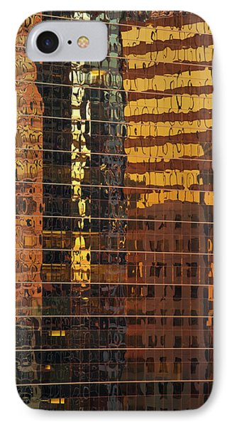 Reflecting Chicago Phone Case by Steve Gadomski