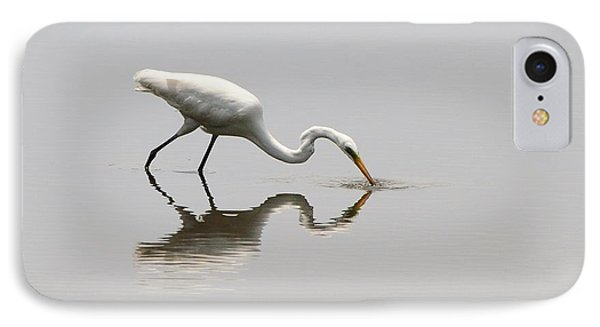 Reflecting Egret Phone Case by Al Powell Photography USA