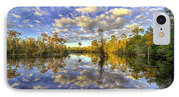 IPhone Case featuring the photograph Reflecting On Florida Wetlands by JC Findley