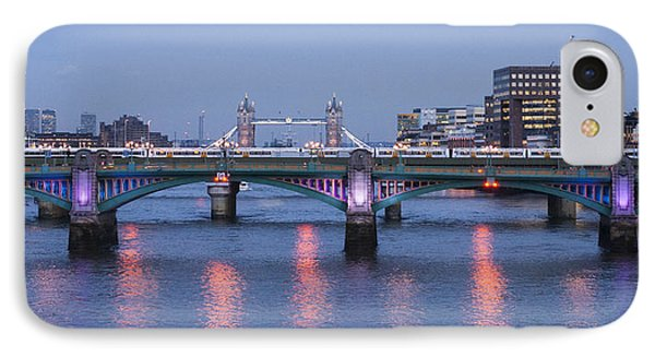 Reflecting On The Thames IPhone Case by David Isaacson