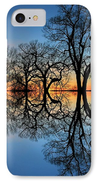 Reflecting On Tonight IPhone Case by Chris Berry