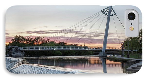 Reflecting On Wichita IPhone Case by Kyle Findley