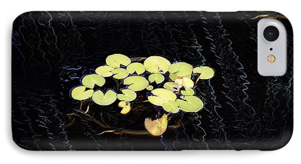 Reflecting Pool Lilies Phone Case by Tim Allen