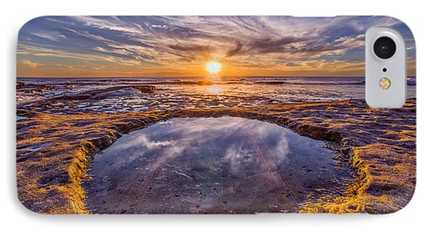 Reflecting Pool IPhone Case by Peter Tellone