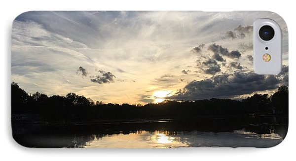 Reflecting Upon The Sky IPhone Case by Jason Nicholas