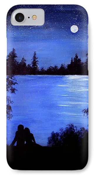 Reflection By The Water IPhone Case
