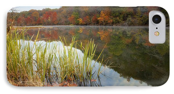 Reflection In The Fort River Phone Case by Iris Greenwell