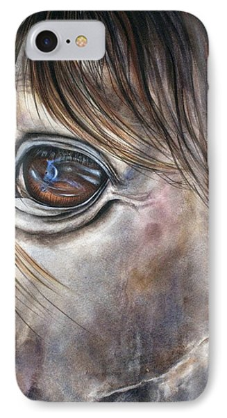 Reflection Of A Painted Pony IPhone Case