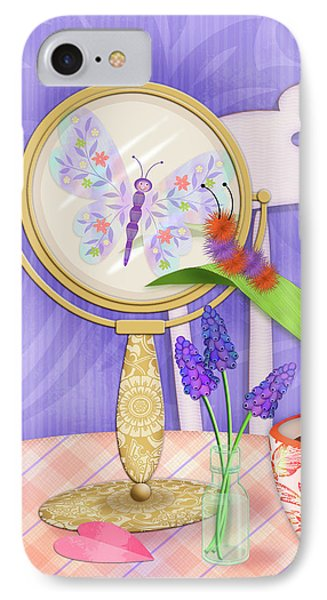 Reflection Of A Promise IPhone Case by Valerie Drake Lesiak