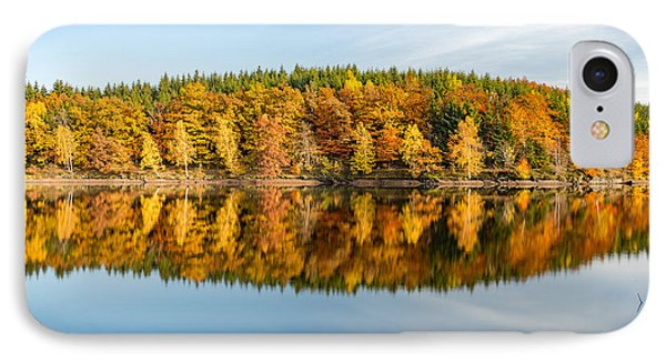 Reflection Of Autumn IPhone Case by Andreas Levi
