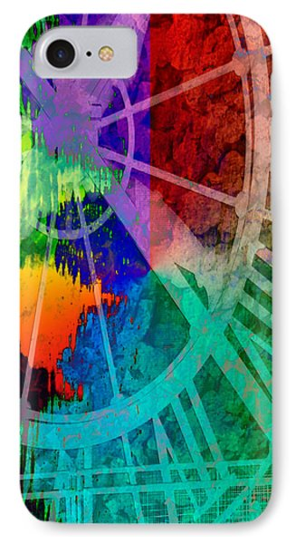 Reflection Of Time Phone Case by Brian Roscorla