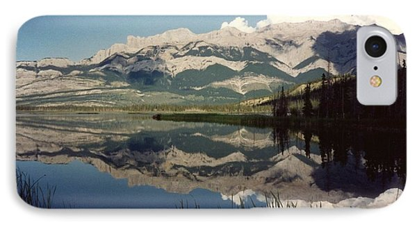 Reflection On Talbot Lake Phone Case by Shirley Sirois