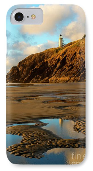 Reflection Puddle IPhone Case by Mike Dawson