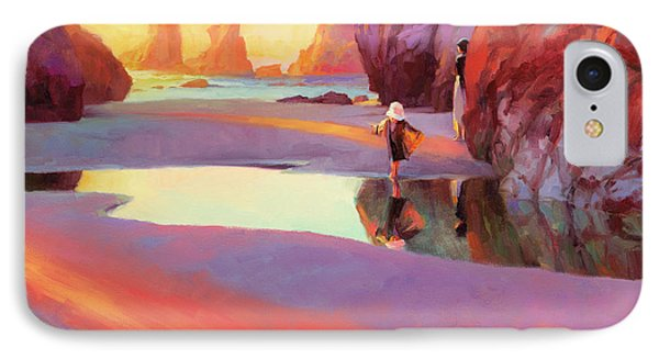 Pacific Ocean iPhone 7 Case - Reflection by Steve Henderson
