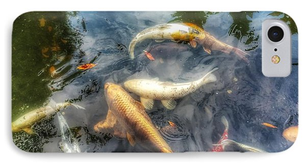 Reflections And Fish 2 IPhone Case by Isabella F Abbie Shores FRSA