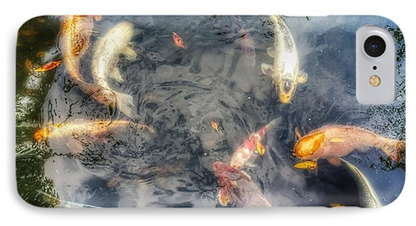 Reflections And Fish 3 IPhone Case by Isabella F Abbie Shores FRSA