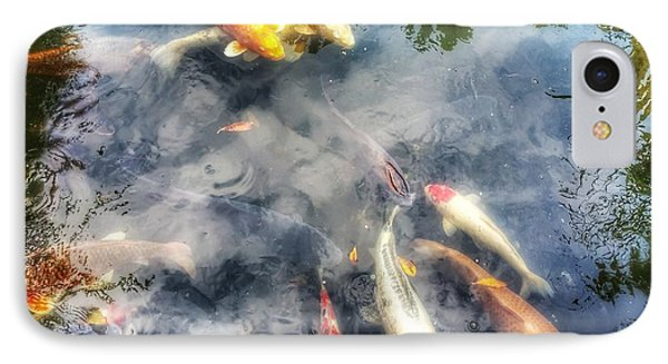 Reflections And Fish 4 IPhone Case by Isabella F Abbie Shores FRSA