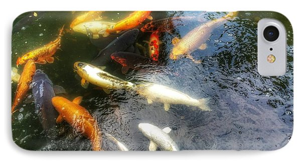 Reflections And Fish 5 IPhone Case