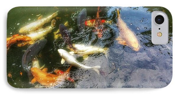 Reflections And Fish 6 IPhone Case by Isabella F Abbie Shores FRSA