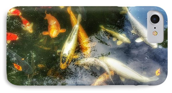Reflections And Fish 7 IPhone Case by Isabella F Abbie Shores FRSA