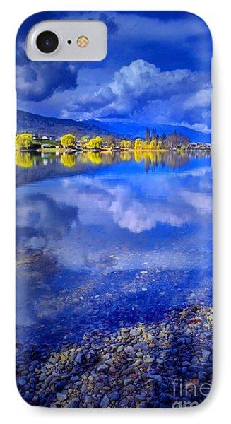 Reflections At Osoyoos Lake IPhone Case by Tara Turner