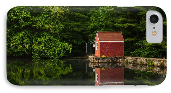 Reflections At Stewart Woods IPhone Case