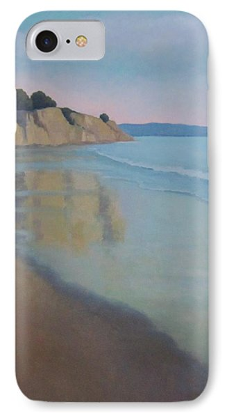 IPhone Case featuring the painting Reflections At Summerland Beach Series 3 by Jennifer Boswell