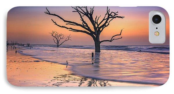 Reflections Erased - Botany Bay Phone Case by Rick Berk