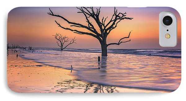 Reflections Erased - Botany Bay IPhone Case by Rick Berk