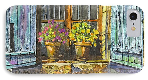 Reflections In A Window IPhone Case by Carol Wisniewski