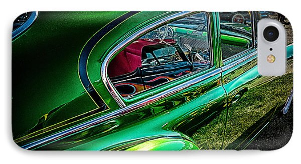 Reflections In Green IPhone Case by Jay Stockhaus