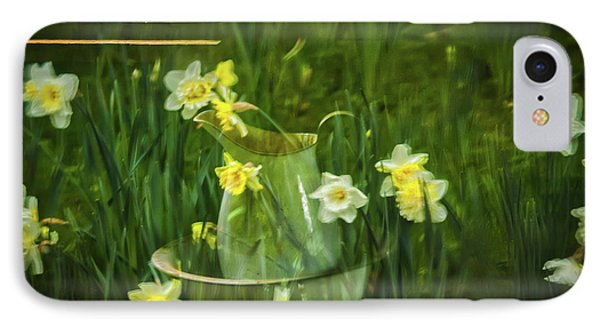 Reflections In The Window IPhone Case by Mitch Shindelbower