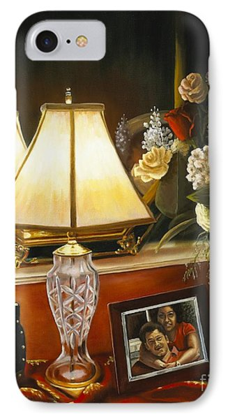 IPhone Case featuring the painting Reflections by Marlene Book