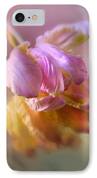 Reflections Of A Tulip IPhone Case by Jessica Jenney