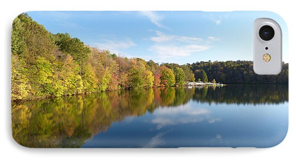 IPhone Case featuring the photograph Reflections Of Autumn by Donald C Morgan