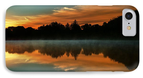 Reflections Of Beauty IPhone Case by Rob Blair