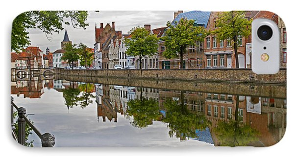 Reflections Of Brugge IPhone Case