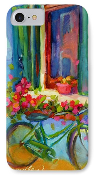 IPhone Case featuring the painting Reflections Of Burano by Chris Brandley