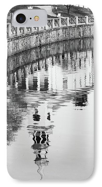 Reflections Of Church 2 Phone Case by Karol Livote