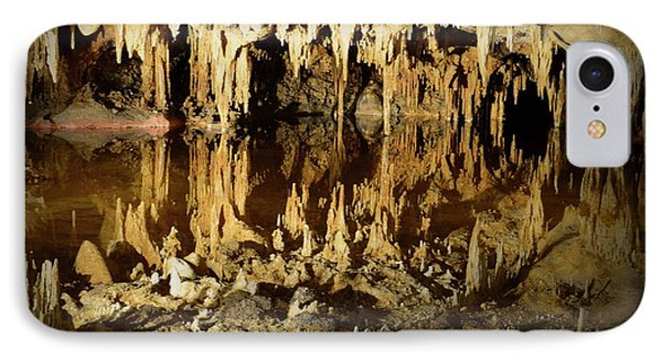 Reflections Of Dream Lake At Luray Caverns IPhone Case by Paul Ward