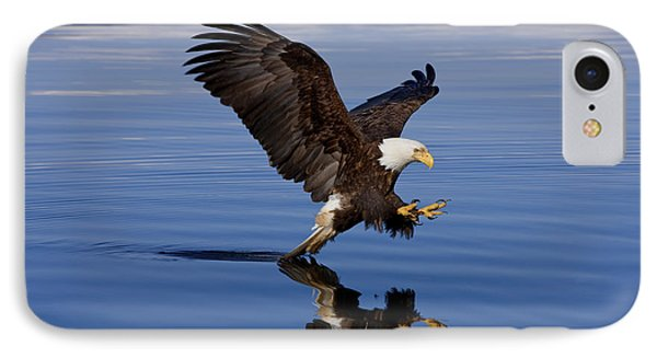 Reflections Of Eagle Phone Case by John Hyde - Printscapes