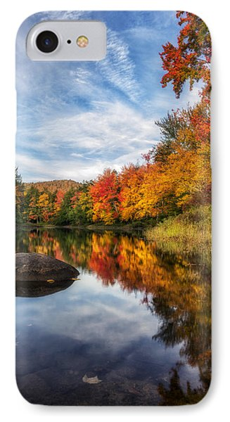 Reflections Of Fall Phone Case by Mark Papke