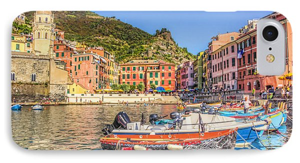 Reflections Of Italy IPhone Case by Brent Durken