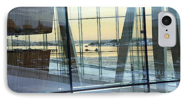 IPhone Case featuring the photograph Reflections Of Oslo by David Chandler